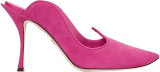 Dolce & Gabbana Suede Pink Pumps