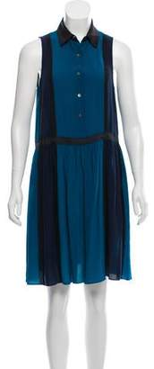 Jonathan Simkhai Sleeveless Knee-Length Dress