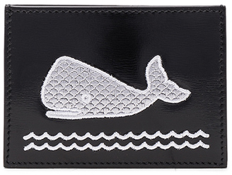 Thom Browne Embroidered Single Cardholder $325 thestylecure.com