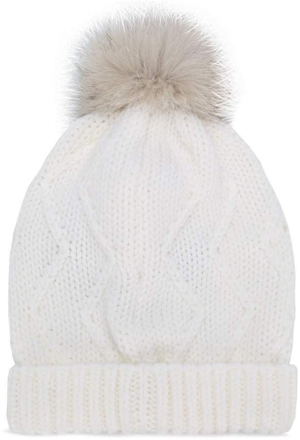 Woolrich pom-pom beanie
