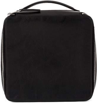 Rick Owens zipped cuboid bag