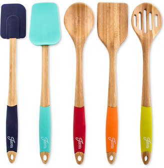 Fiesta Bamboo & Silicone 5-Pc. Mixing & Serving Utensils
