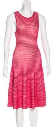 Issa Textured Knit Midi Dress