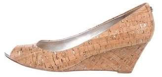 Donald J Pliner Peep-Toe Cork Wedges