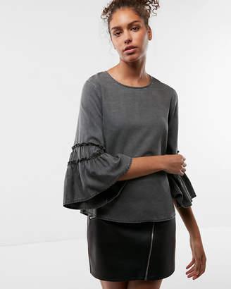 Express Romantic Sleeve Blouse