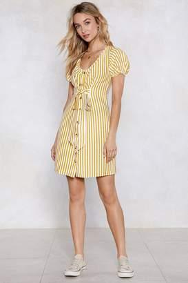 Nasty Gal On a Call Striped Dress