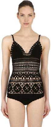 Isabel Marant Hand-Crocheted One Piece Swimsuit
