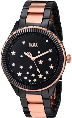 Jivago Women's JV2415 Casual Sky Watch, Black