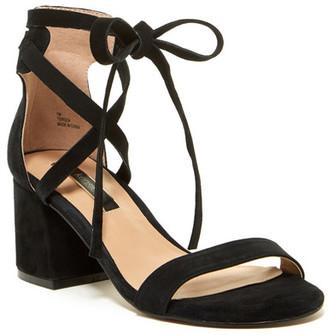 Kensie Terezia Block Heel Sandal $79 thestylecure.com