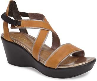 Naot Footwear Gesture Crisscross Platform Wedge