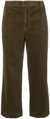 Aspesi cropped corduroy trousers