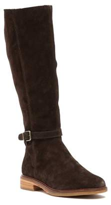 Clarks Clarkdale Clad Suede Riding Boot
