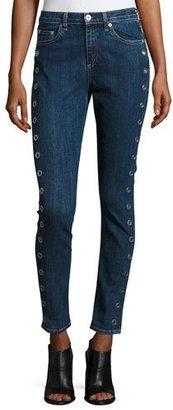 rag & bone/JEAN 10 Inch Dre Slim Boyfriend Jeans, Dalton Eyelet $295 thestylecure.com