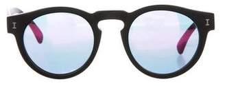 Illesteva Leonard Metallic Sunglasses