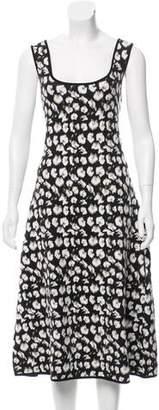 Jonathan Cohen Floral Print Sweater Dress