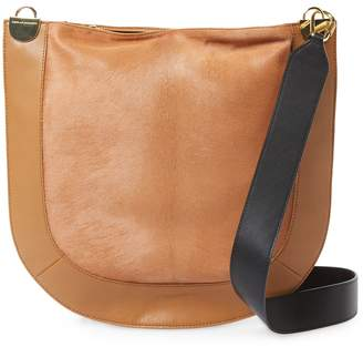 Diane von Furstenberg Women's Calf Hair Leather Hobo Bag