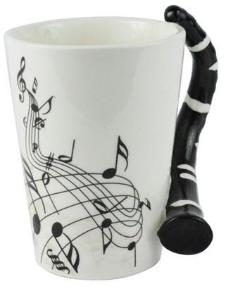 Fairly Odd Novelties Clarinet Guitar Coffee Mug