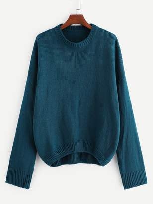 Shein Plus Drop Shoulder Soft Knit Jumper
