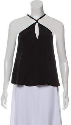 Alexis Sleeveless Silk Top
