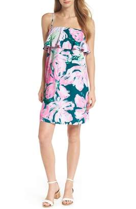 Lilly Pulitzer R) Annastasha Popover Shift Dress