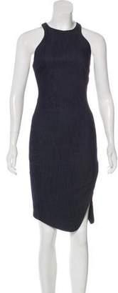 Elizabeth and James Denim Midi Dress w/ Tags