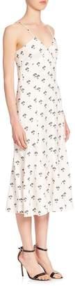 Victoria Beckham Women's Cami Printed Midi Dress