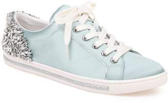 Badgley Mischka Shirley Crystal Embellished Sneaker
