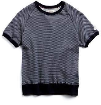 Todd Snyder + Champion Japanese Nautical Stripe Short Sleeve Sweatshirt
