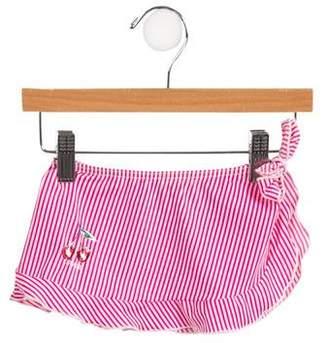 Armani Junior Girls' Striped Sarong
