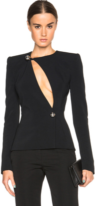 Mugler Fitted Cady Jacket $1,975 thestylecure.com