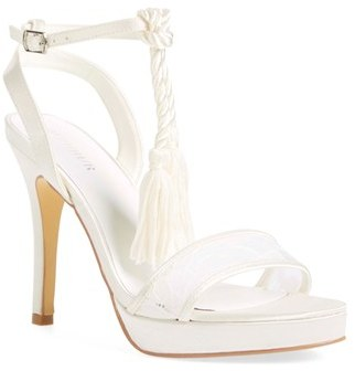Women's Menbur 'Dalila' Bridal Sandal $121.95 thestylecure.com