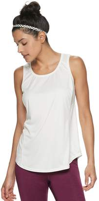 Tek Gear Women's Mesh Panel Base Layer Tank