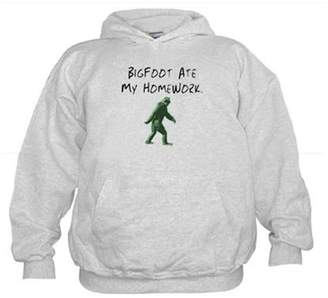 CafePress - Bigfoot Ate My Homework. - Kids Hooded Sweatshirt, Classic Hoodie