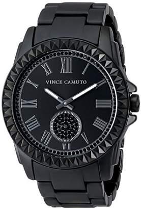 Vince Camuto (ヴィンス カムート) - [ヴィンス・カムート]VINCE CAMUTO 腕時計 クォーツ VC/5191BKBK 【正規輸入品】
