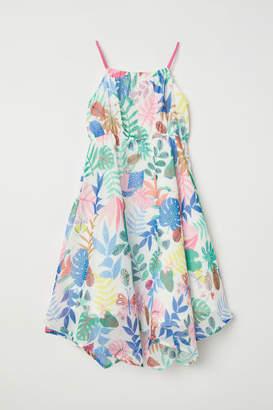H&M Sleeveless Maxi Dress - White