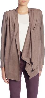 KUT from the Kloth Sansa 3-Way Wear Faux Suede Drape Jacket