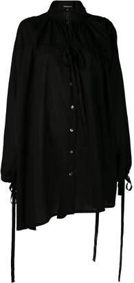 Ann Demeulemeester asymmetric long tunic