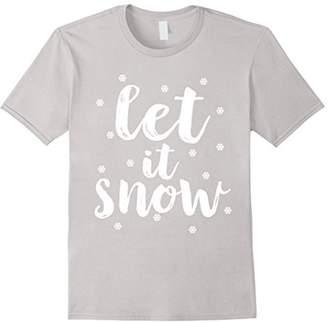 Let It Snow Little Snowflakes Christmas Shirt