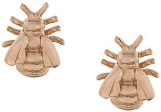 Alex Monroe bee stud earrings