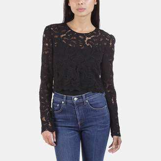 A.L.C. Talia Lace Crop Top