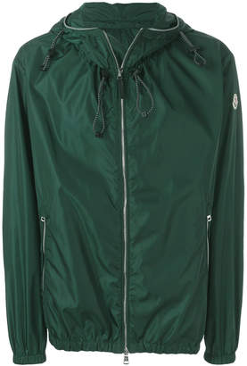 Moncler hooded windbreaker jacket
