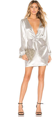 About Us Jackie Twist Front Dress