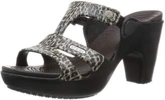 Crocs Women's Cyprus V Print Heel W Dress Pump