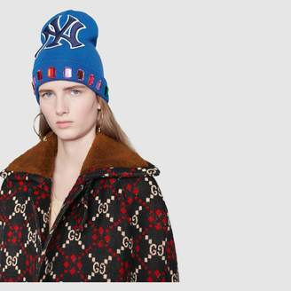 Gucci Wool hat with NY YankeesTM patch