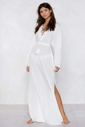 Nasty Gal Strings Attached Maxi Dress