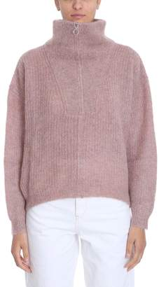 Etoile Isabel Marant Cyclan Light Pink Wool Sweater