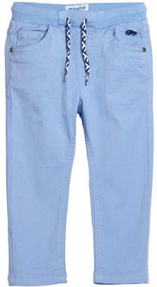 Mayoral Boys' Drawstring Straight-Leg Pants, Size 12-36 Months