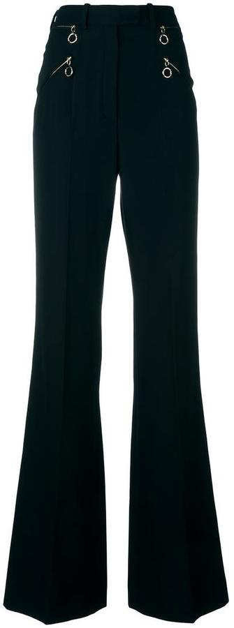Nina RicciNina Ricci flared high waisted trousers