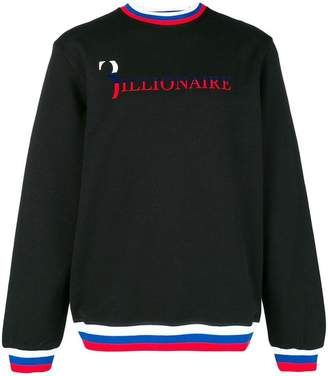 Billionaire 'Billionaire' print sweater