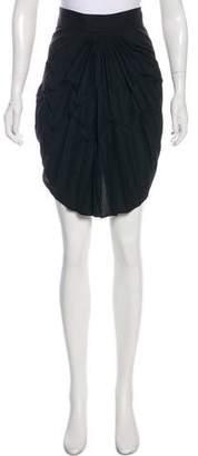 Balenciaga Pleated Knee-Length Skirt